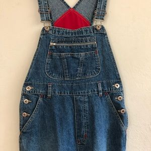 Vintage London London denim overalls